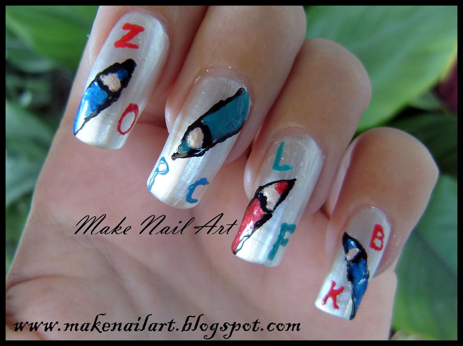 Make Nail Art: July 2013