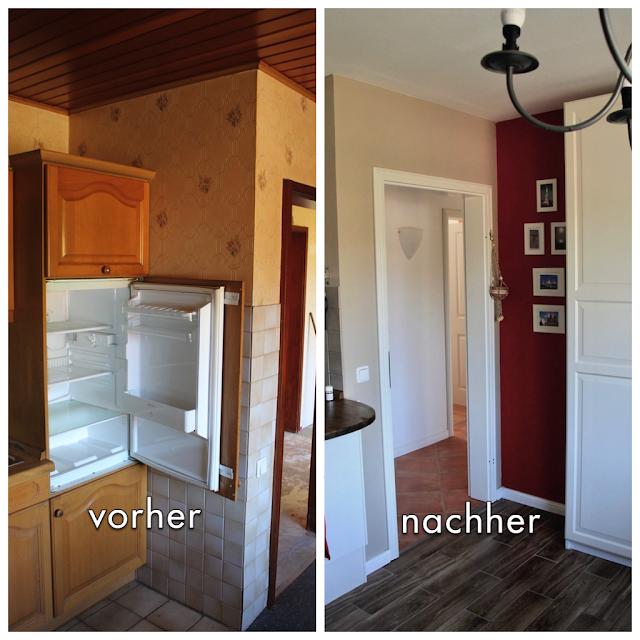 Vorher-nachher: die Küche - Sunnys Haus