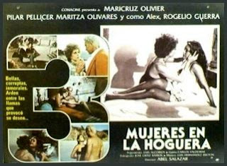 Cartel de la película: tres mujeres en la hoguera (1979)