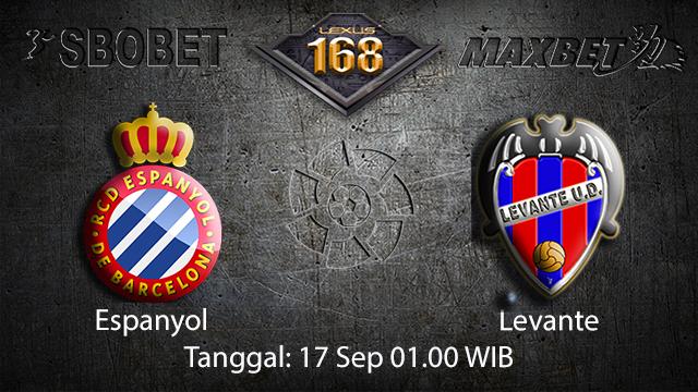 Prediksi Bola Jitu Espanyol vs Levante 17 September 2018 ( Spanish La Liga )