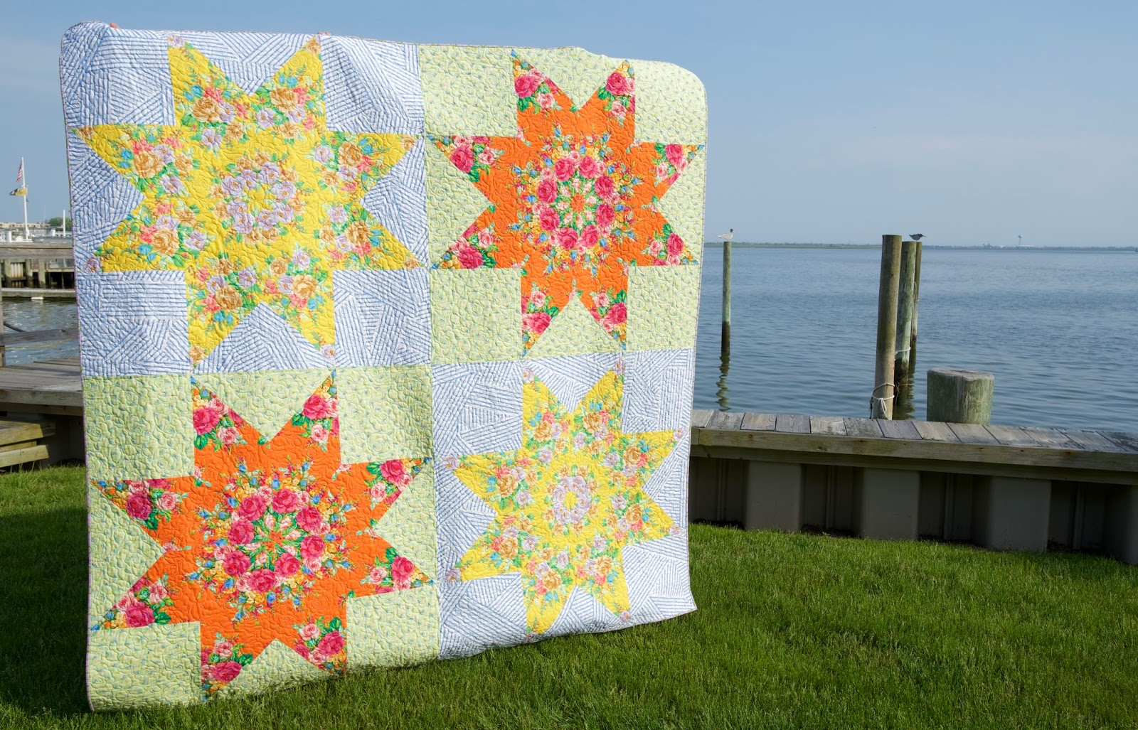 Sew Some Sunshine: Big Star Finish : big star quilt block - Adamdwight.com