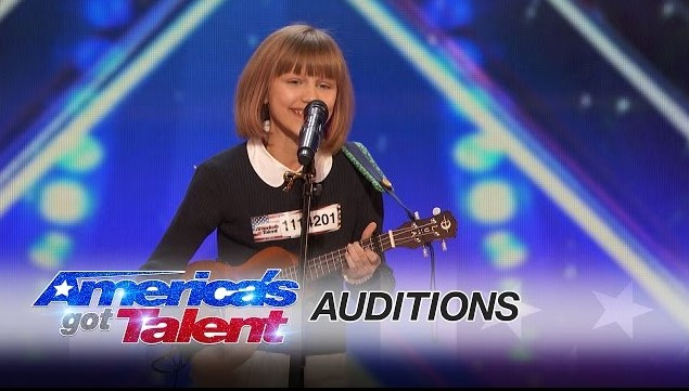 Video Grace VanderWaal Gadis 12 Tahun The Next Taylor Swift - America's Got Talent 2016
