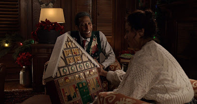 The Holiday Calendar 2018 Netflix movie still Kat Graham Ron Cephas Jones