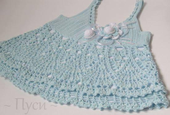 Patrón #1696: Vestido de Bebe