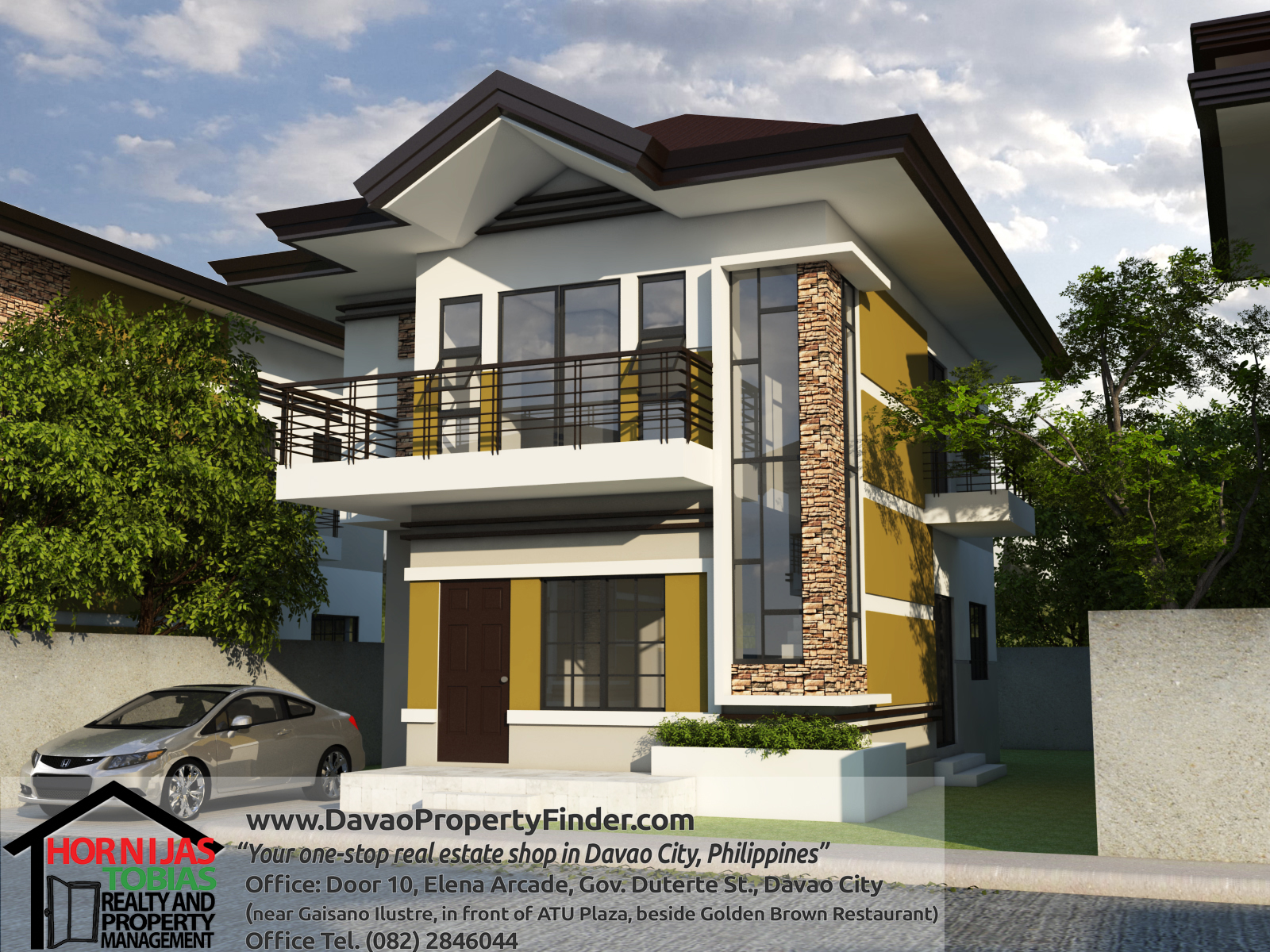 50 Small Two Story House Design With Terrace Trending