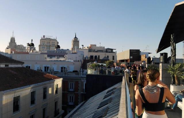 Celebración, La terraza del Urban, azotea. Tusolovive Madrid