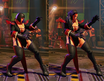 SFV: Gloria Laura Easter Egg