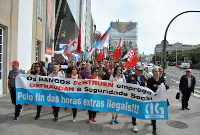 Manifestación da CIG pola Coruña o 8/05/2017