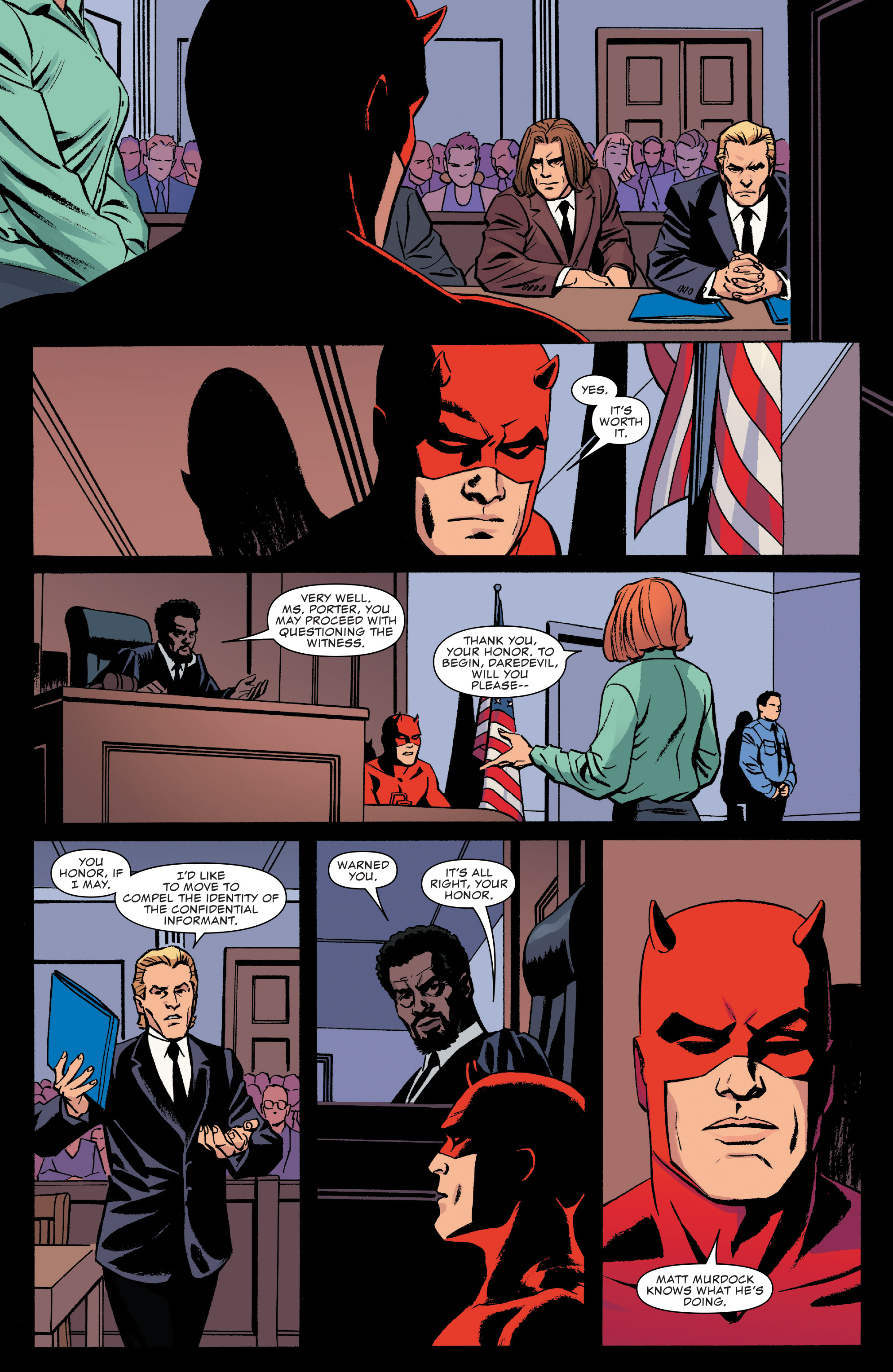 Read online Daredevil (2016) comic -  Issue #22 - 5