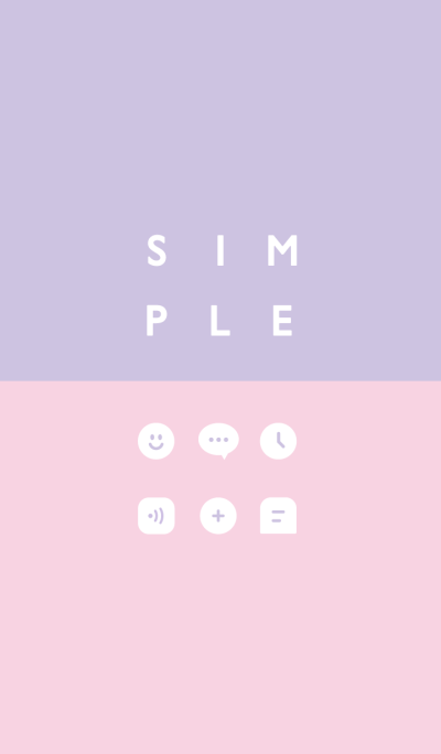 SIMPLE / purple-pink