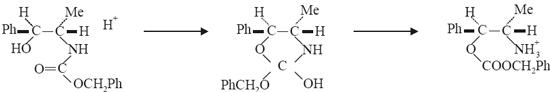 erythro-configuration, and yephedrine the threo-configuration