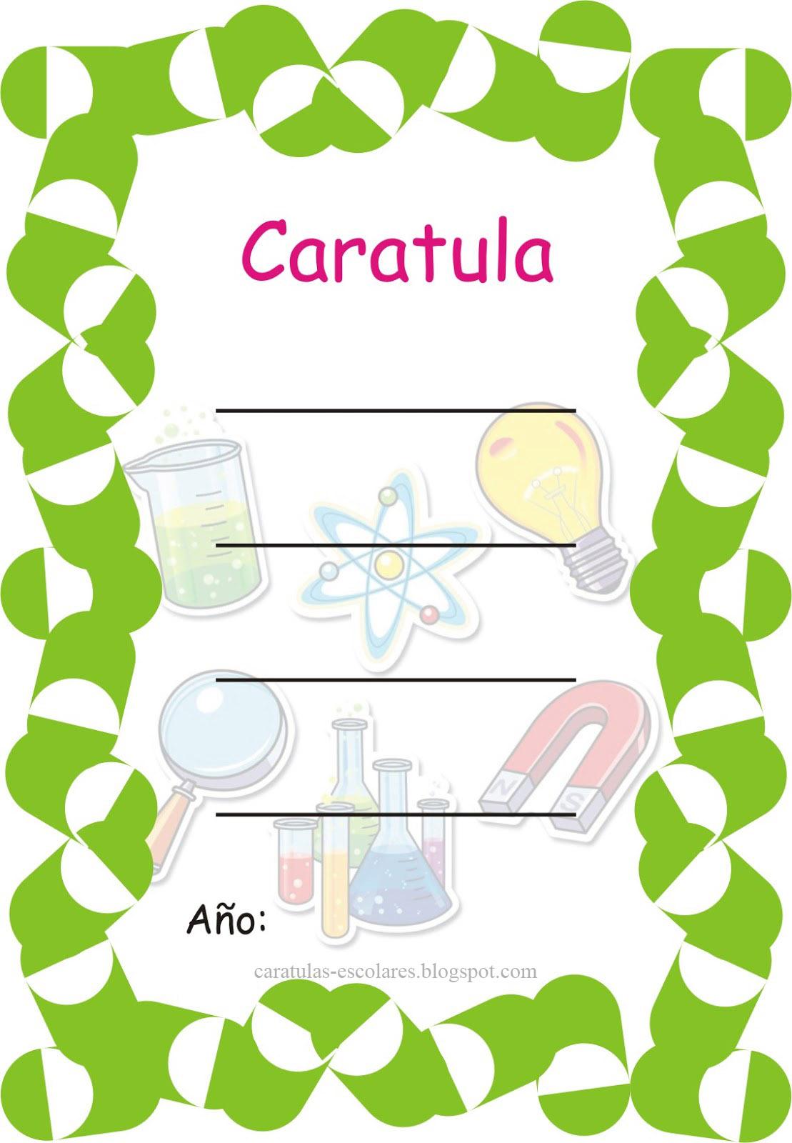 Modelo De Caratula De Educacion Fisica Caratulas Para