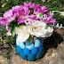 Produk Kerajinan Vas Bunga Dari Sendok Bekas