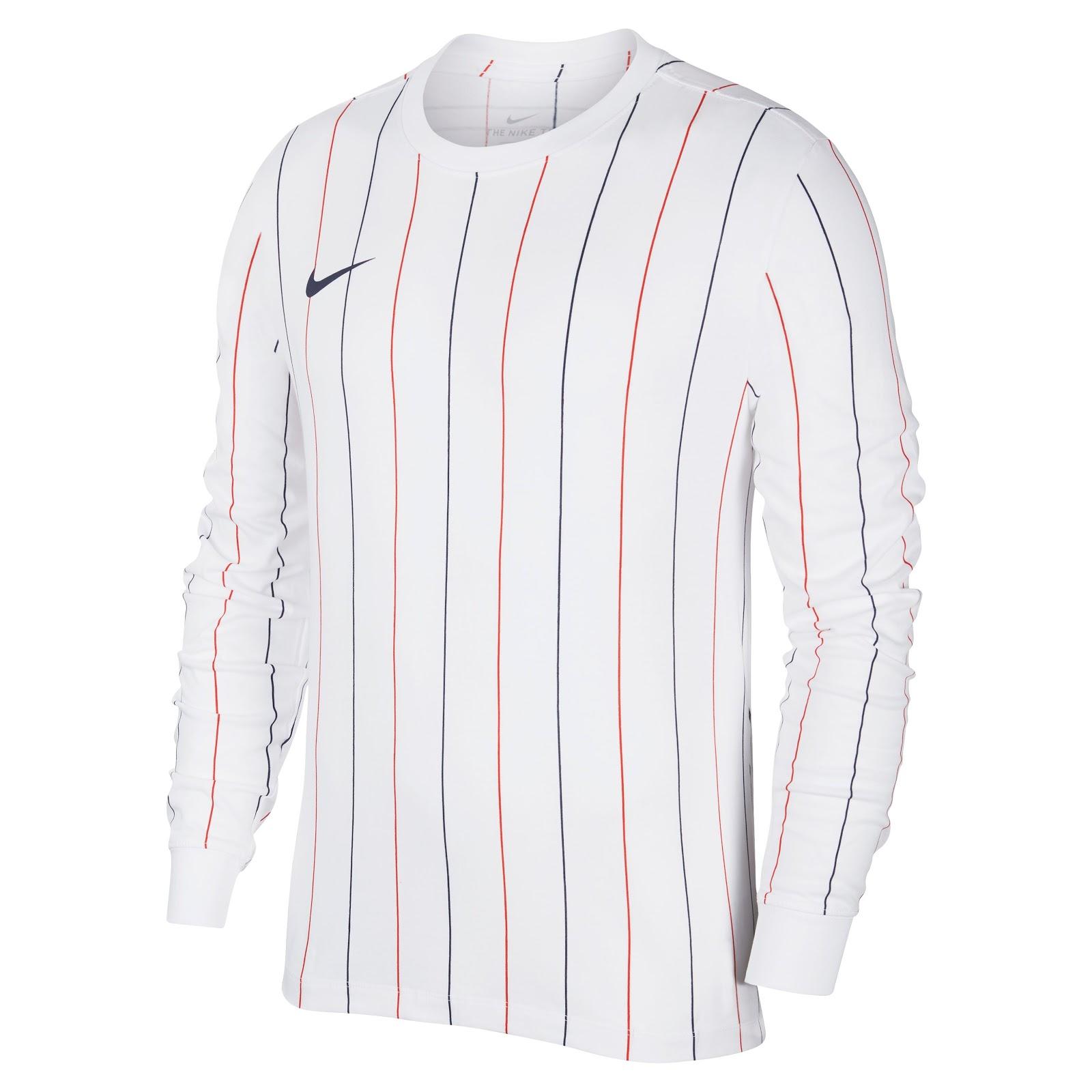 Nike Paris Saint Germain 2019 Ls Retro Trikot Enthullt Nur