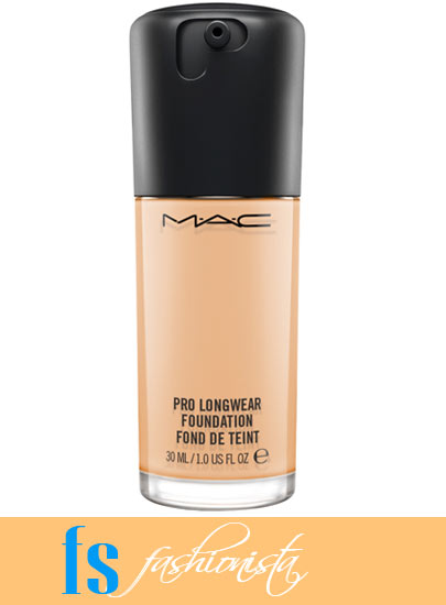 MAC Pro Longwear Foundation NC20 bottle