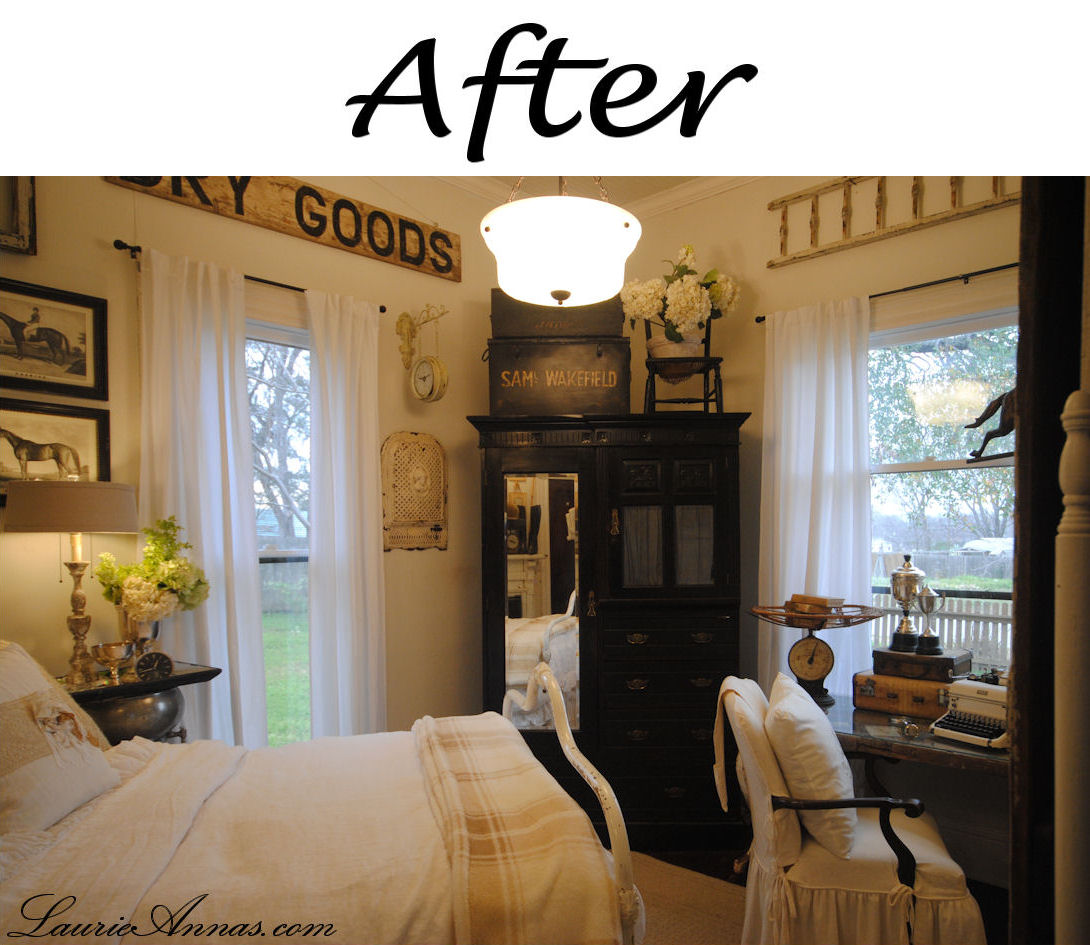 Before And After Pictures Of Bedroom Makeovers Bedroom Ideas Pinterest Diy Boy Lamps For Bedroom Anime Fan Bedroom: Farmhouse Bedroom Before And After