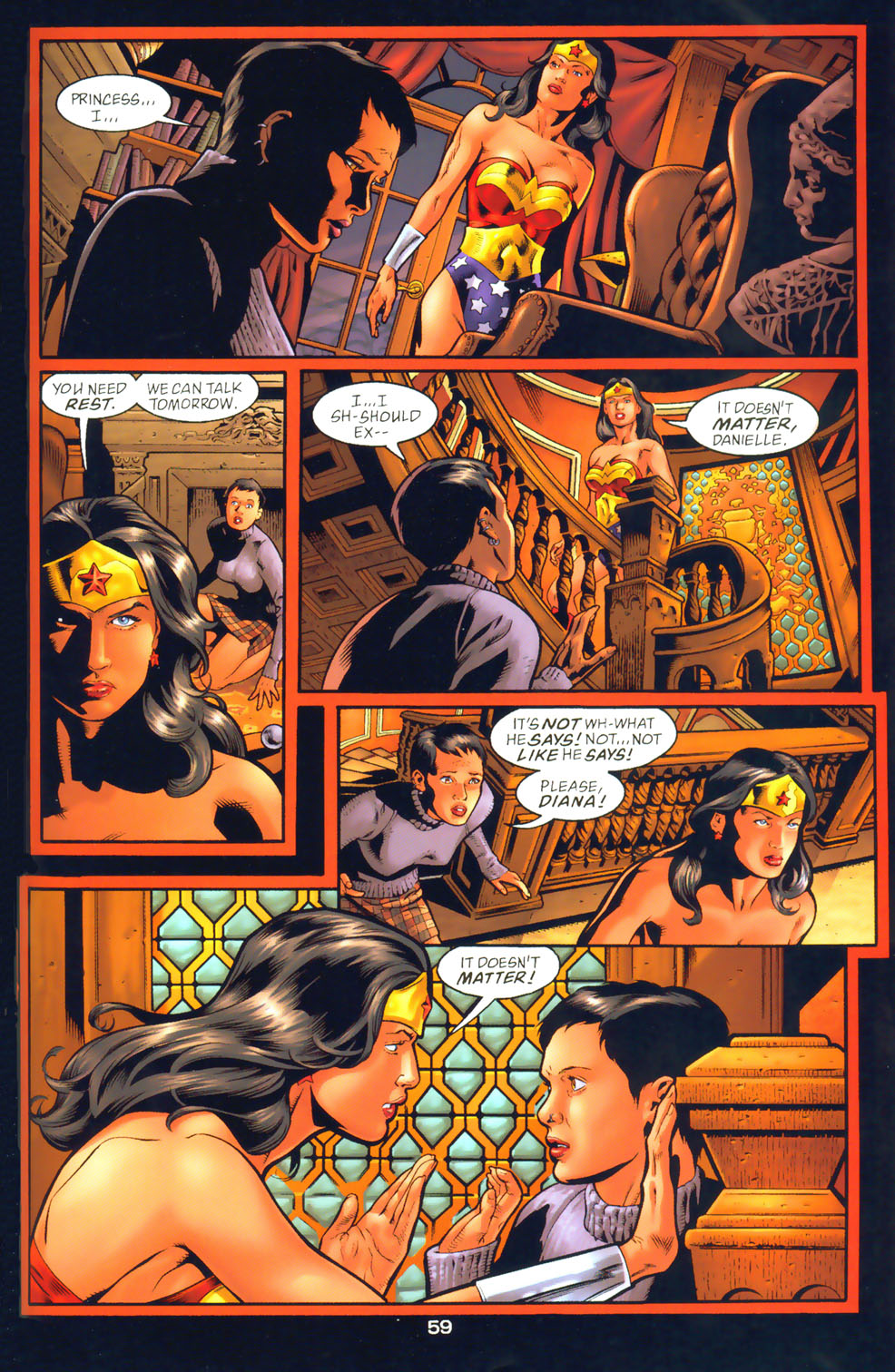 Read online Wonder Woman: The Hiketeia comic -  Issue # Full - 69