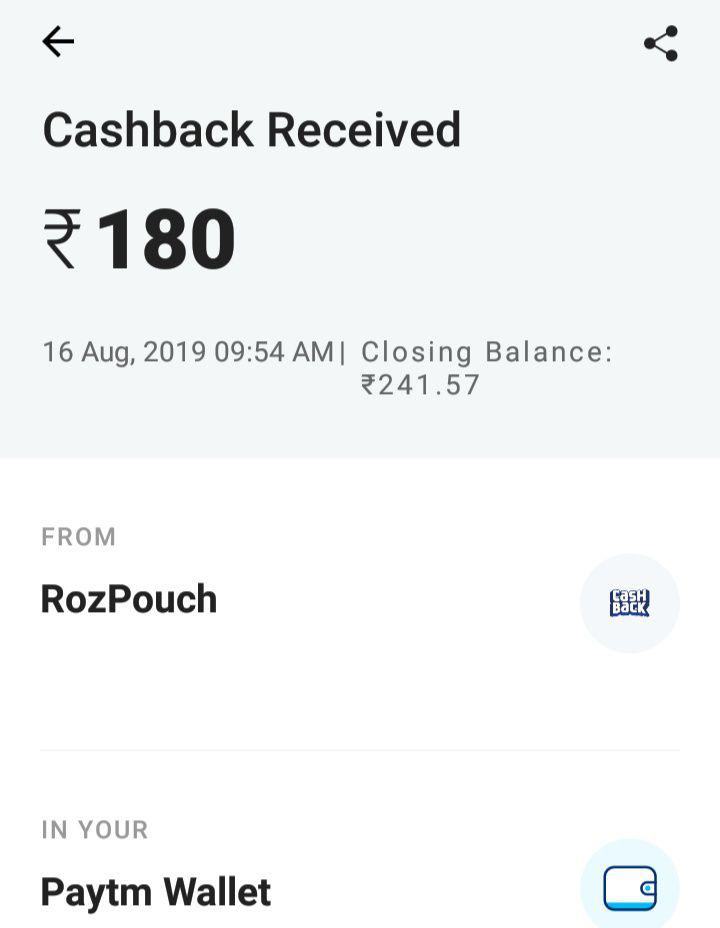 Roz Dhan App: Rs 50 Paytm Cash On Signup And Rs 6 Per Refer