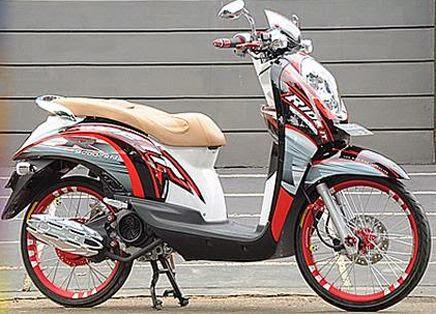 Modifikasi Motor Honda Scoopy