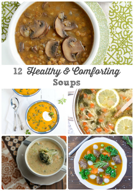 Not only are these 12 Healthy & Comforting Soups better for you & packed with the good stuff, but that are also hearty & comforting at the same time.
