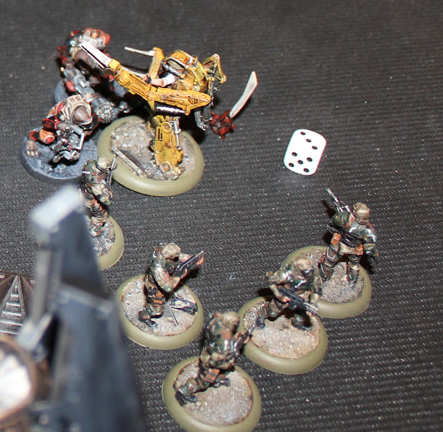Warhammer 40k battle report - Ambush - Space Marines and Genestealer Cults.