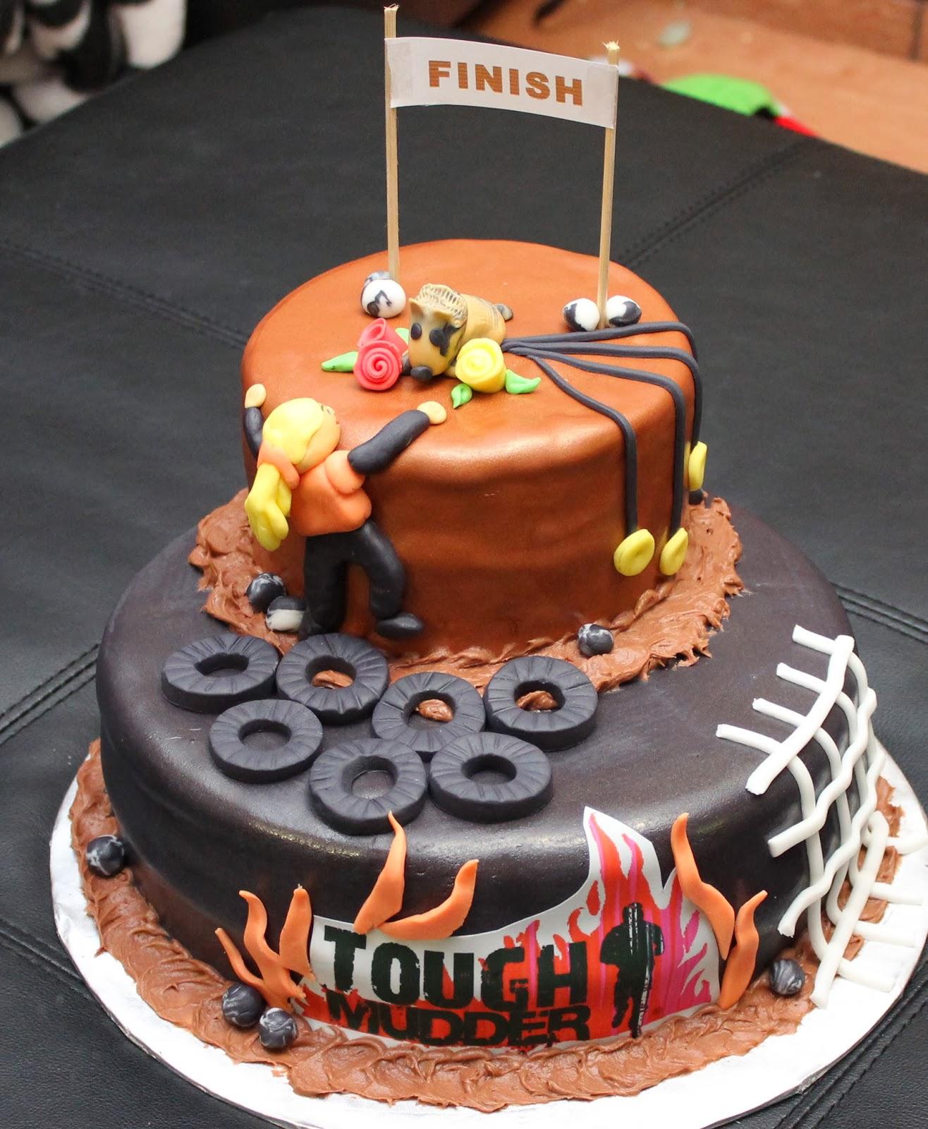 Love Dem Goodies Tough Mudder Cake