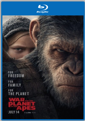 War For The Planet Of The Apes 2017 BluRay 900MB English 720p ESub Watch Online Full Movie Download Worldfree4u 9xmovies