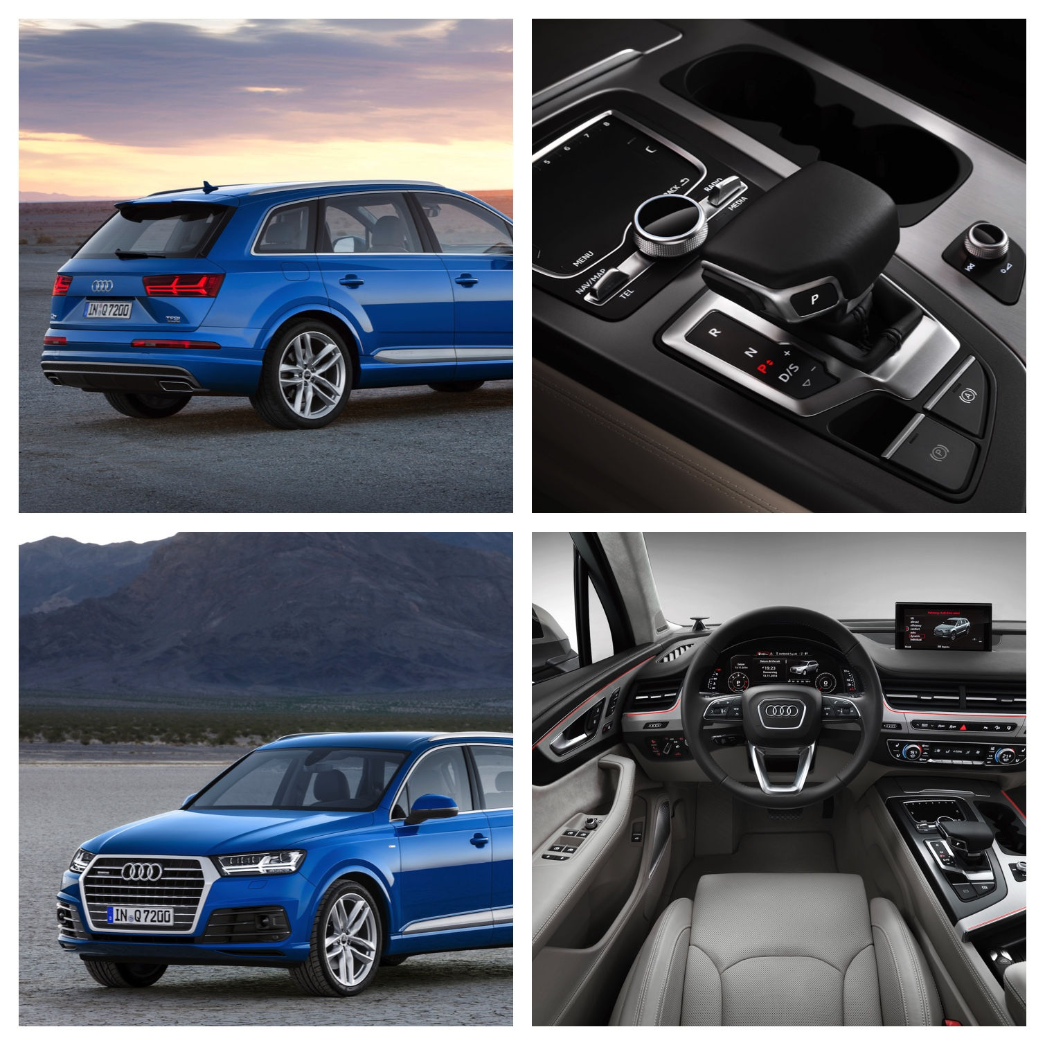 New Second Generation Audi Q7 | Android Tablet with Quattro