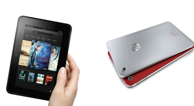 Kindle Fire HD 7 VS HP Slate 7 | Comparativa detallada de sus diferencias