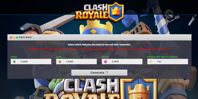 Clash Royale Hack ~ freegameshacks