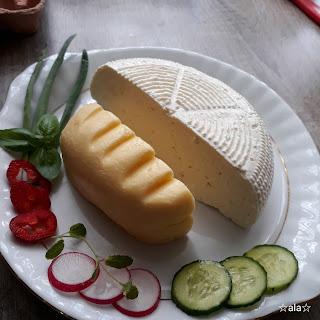 swojski twaróg wiejski ser - ser biały i masło