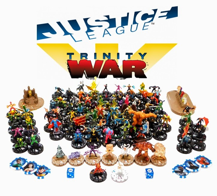 Free Comic Book Day Heroclix: Cthutube: Check Out The WizKids DC HeroClix Justice League