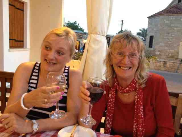 madmumof7 and mum in Cyprus