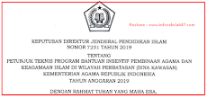 Juknis Program Bina Kawasan Kemenag 2019