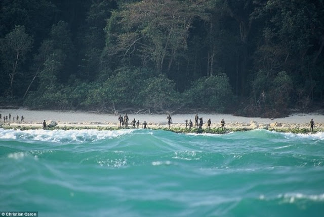 Ilha Sentinela do Norte, Oceano Índico