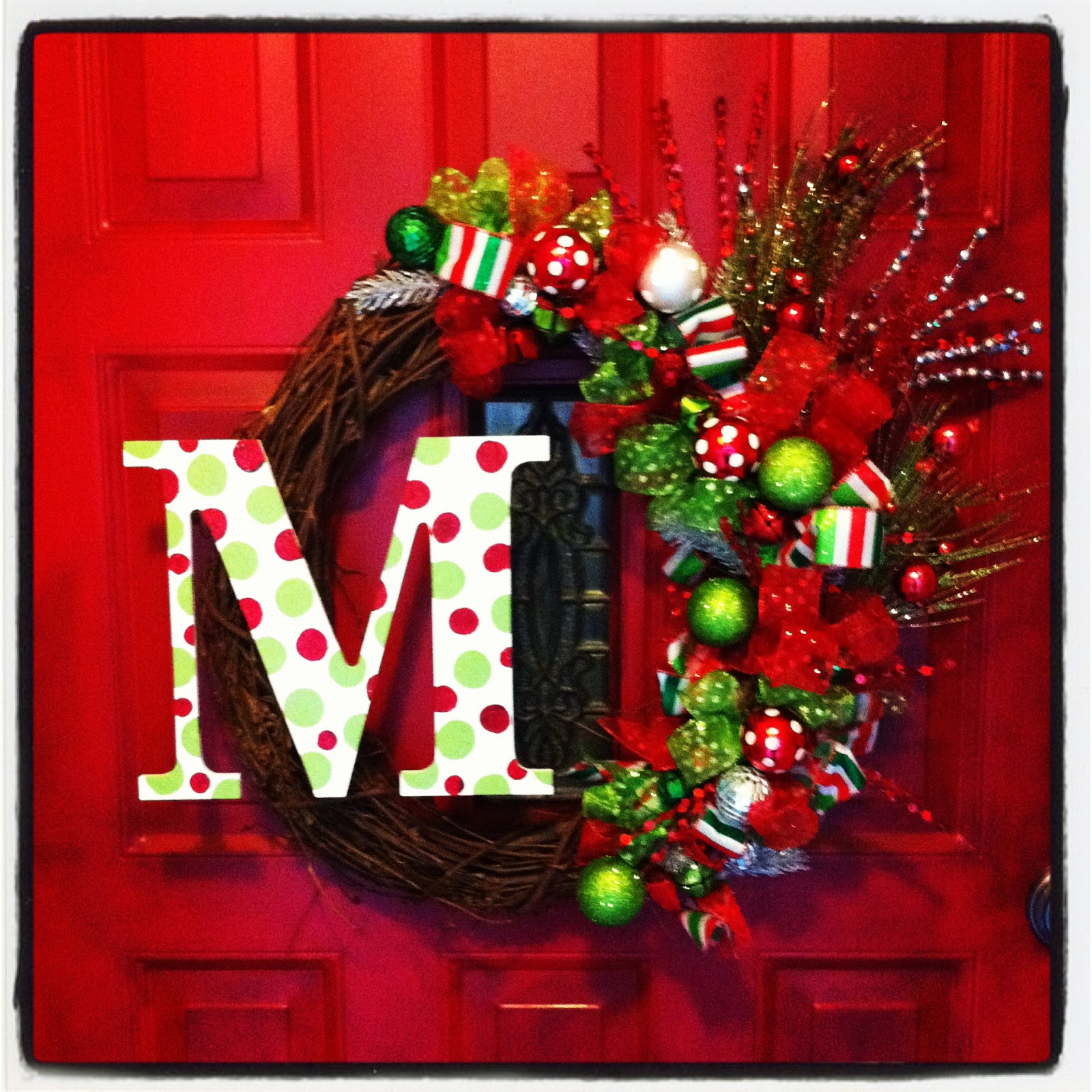 The Life Of Mrs. Martinez: Christmas Wreath