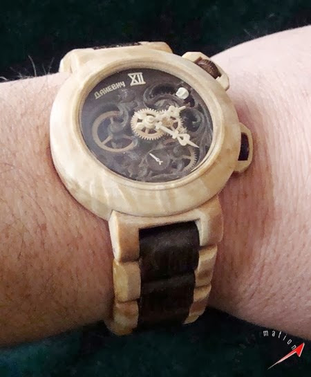 Techformation: Wrist Watches completely made of Wood!