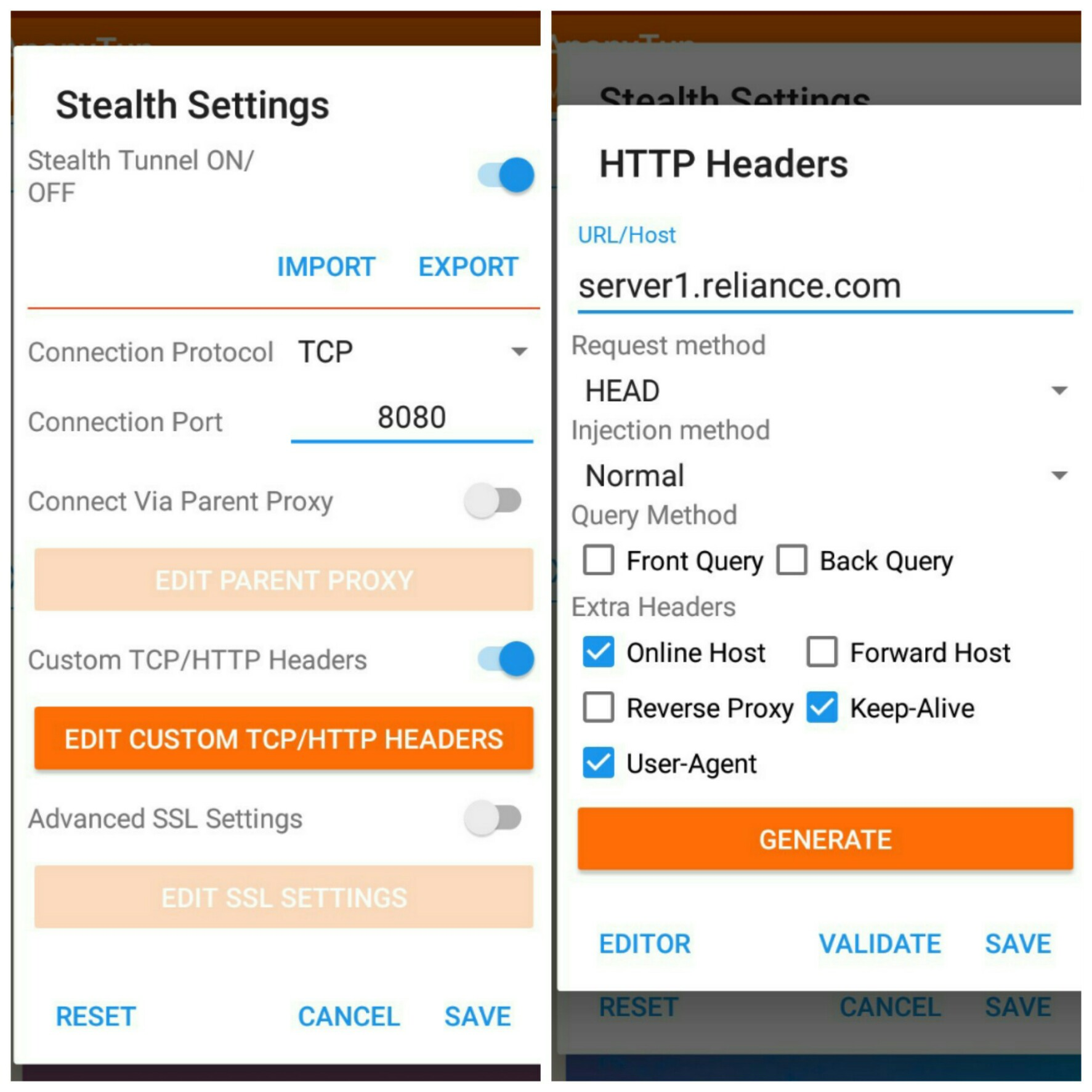 Anonytun Pro Custom Stealth Header