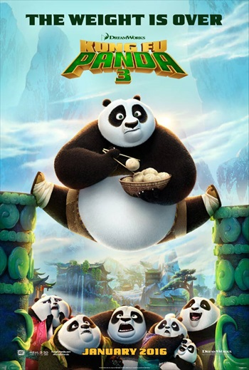 Download Kung Fu Panda 3 2016 English 720p WEBRip 600MB