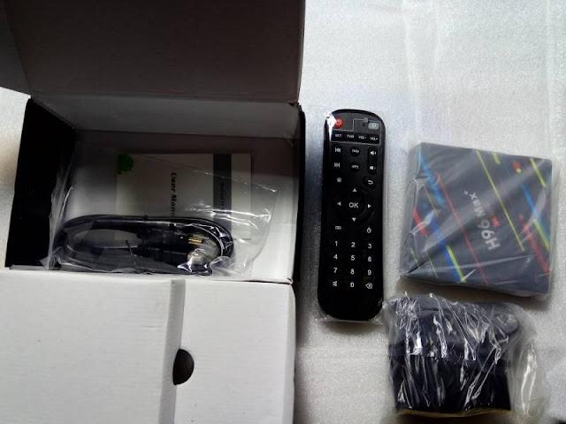 H96 Max+ TV Box