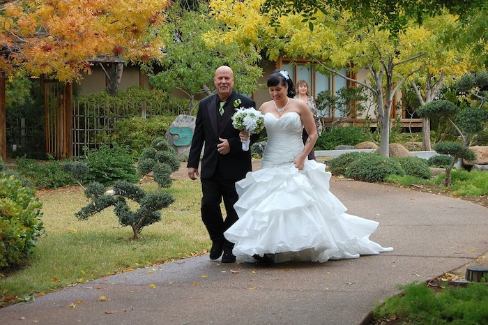 Anese Friendship Garden Of Phoenix Wedding In The