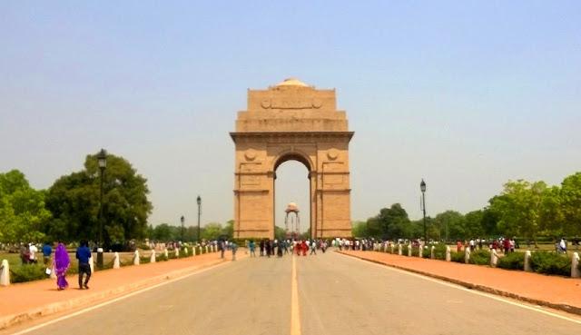 India Gate Monumen Perang Dunia 1 dan Afganistan India