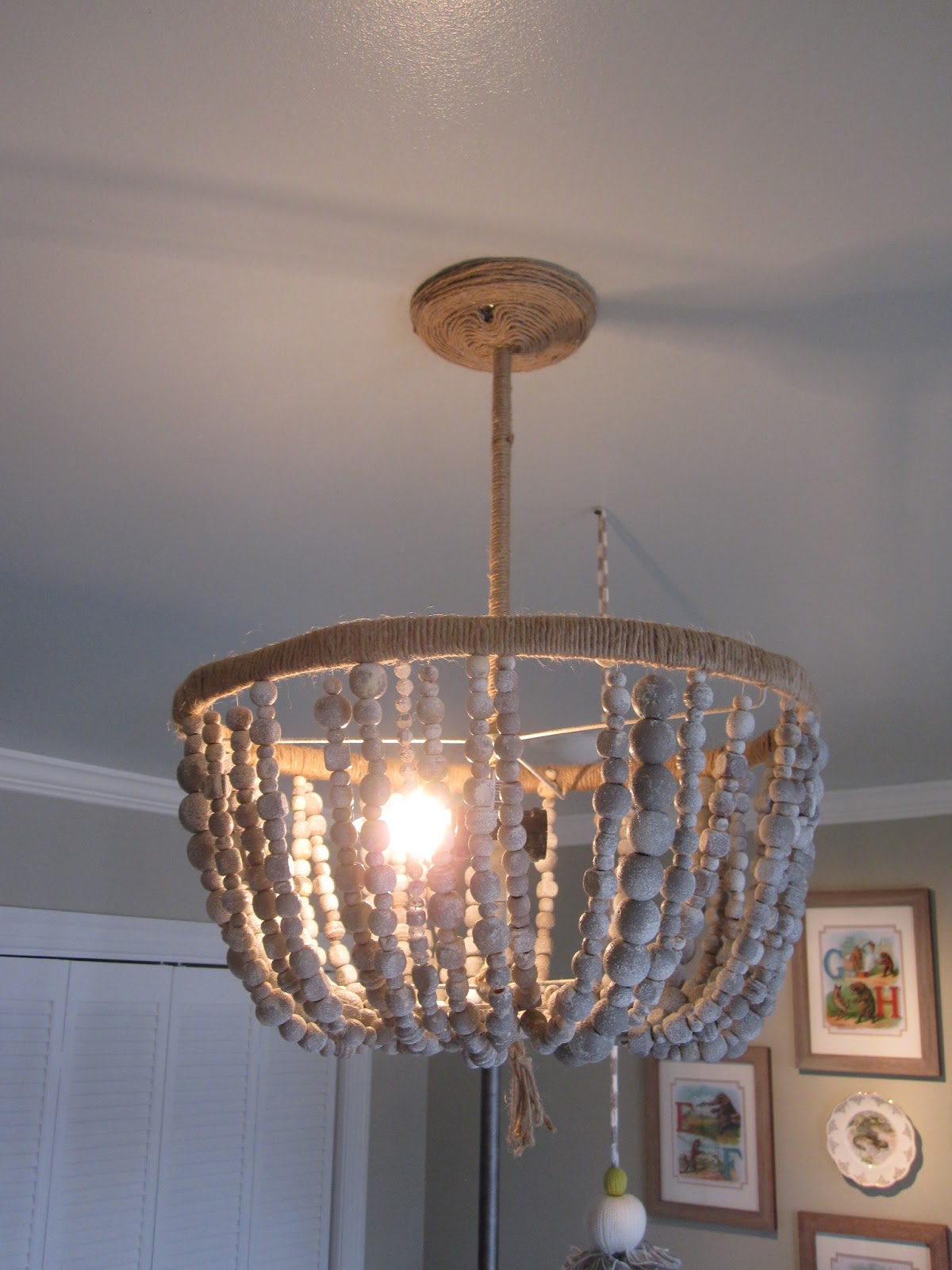 A Diy Nursery Light The Serena And Lily Malibu Chandelier Maggiegriffindesign