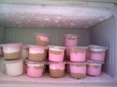 Cara Membuat Es krim Rumahan 2 Rasa Yang Sederhana Dan Gampang