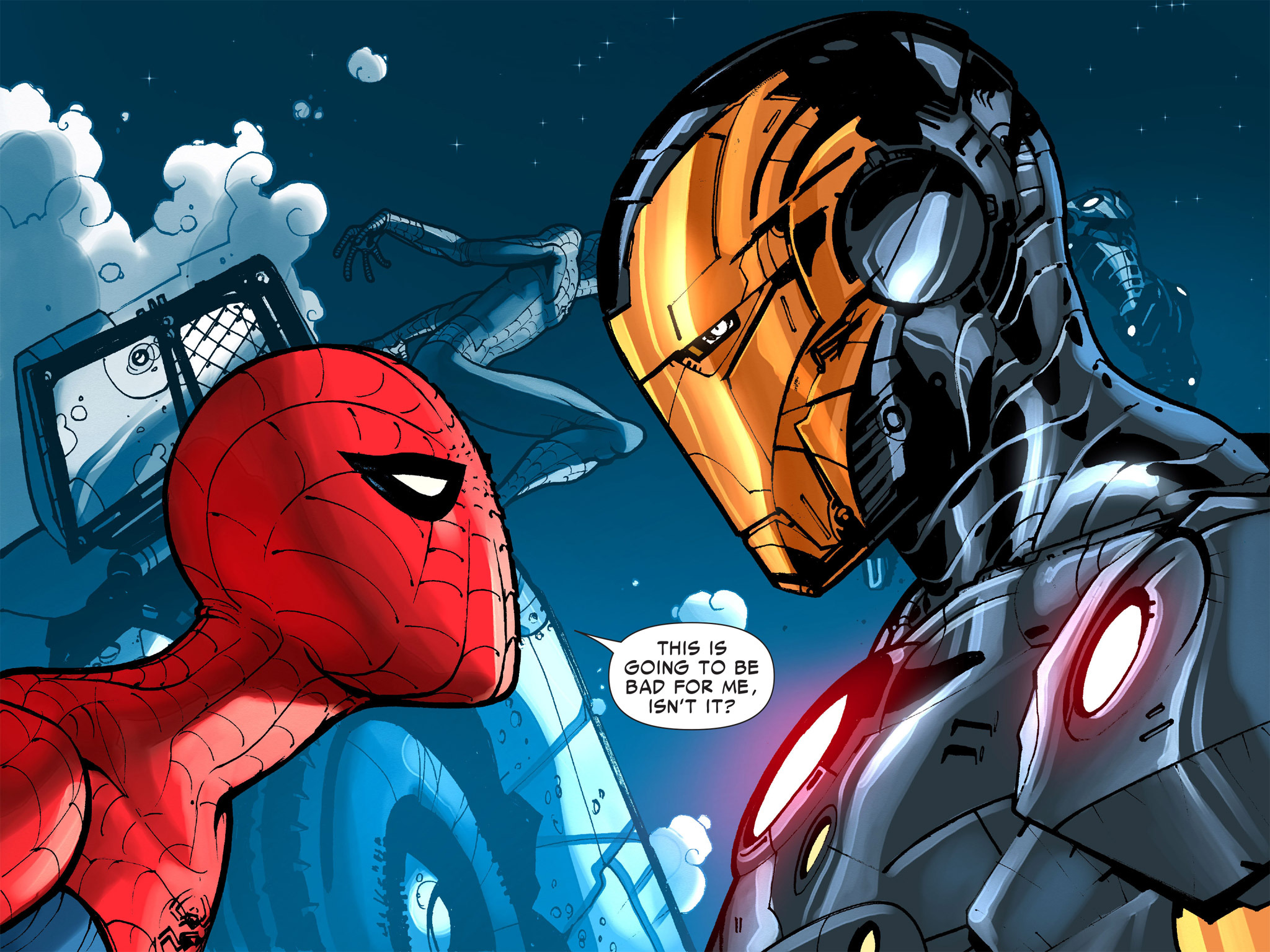 Read online Amazing Spider-Man: Who Am I? comic -  Issue # Full (Part 1) - 131