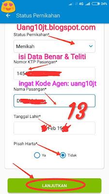Pinjaman Tunaiku Kode Agen uang10jt Pinjaman uang Tangerang Selatan