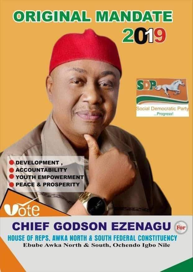 5 STRONG REASONS OCHENDO WILL WIN IN SATURDAY'S HOUSE OF REP ELECTION FOR AWKA NORTH AND SOUTH