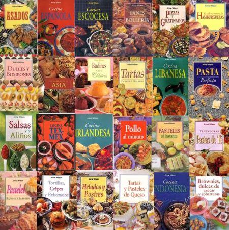 Anne Wilson: Colección Completa Libros de Cocina [60 Libros]