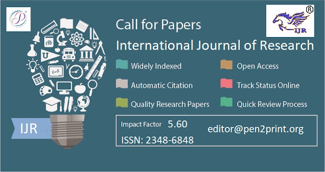 Call for Papers March 2019 IJR