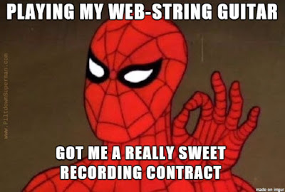 "Although they can be annoying at times, we have to admit that spider webs show amazing design. Now we learn that they are ""tuned"" much like the strings of a musical instrument."
